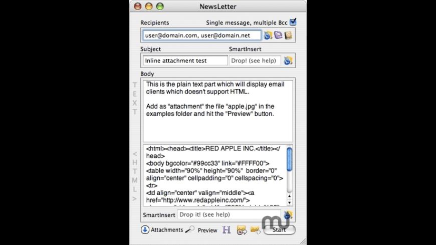 NewsLetter for Mac - review, screenshots