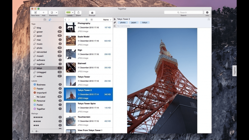 Together for Mac - review, screenshots