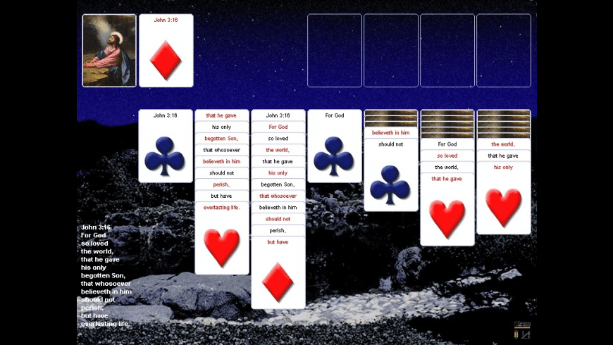 Scripture Solitaire for Mac - review, screenshots