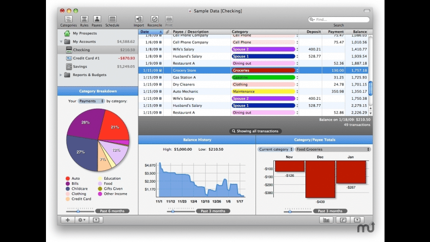 Prospects for Mac - review, screenshots