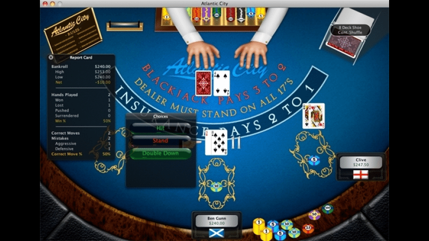 World of Blackjack for Mac - review, screenshots