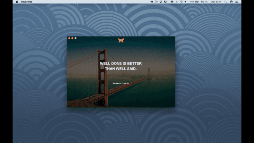 InspireMe for Mac - review, screenshots