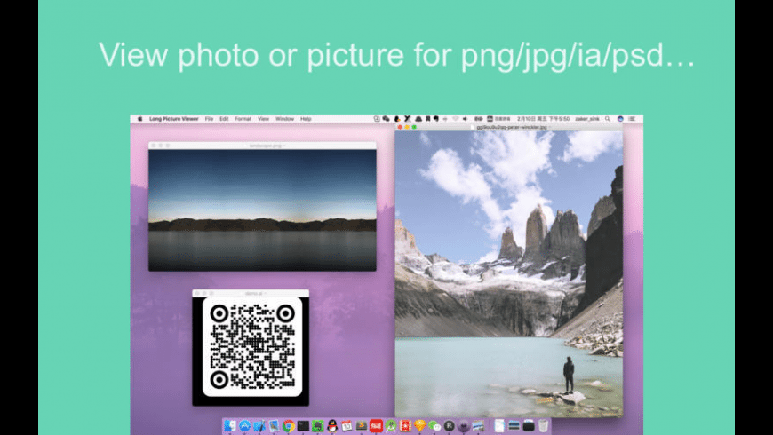 Long Picture Viewer for Mac - review, screenshots