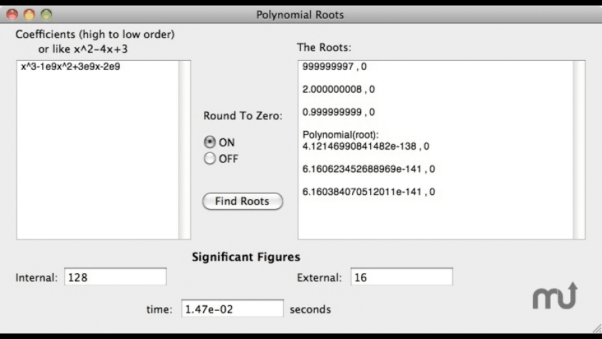 PolyRoots for Mac - review, screenshots