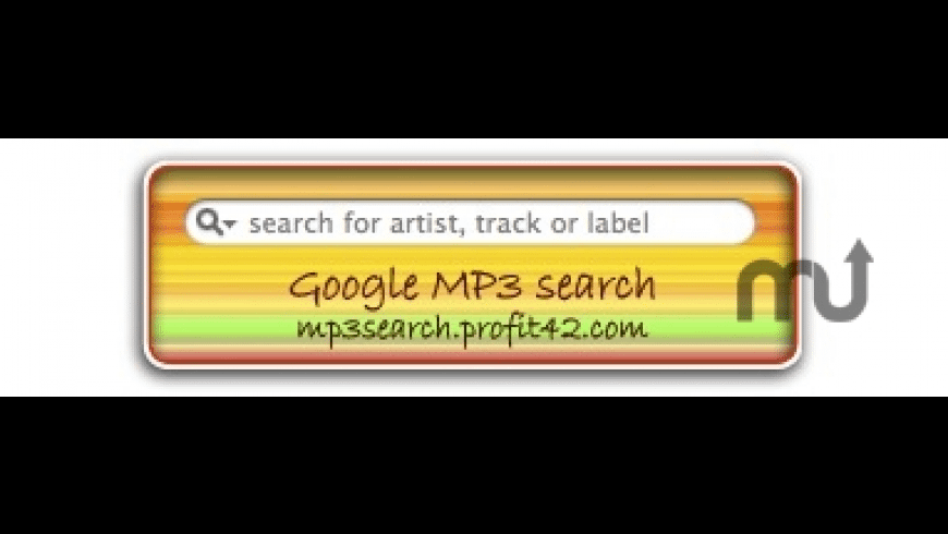 MP3 Search for Mac - review, screenshots