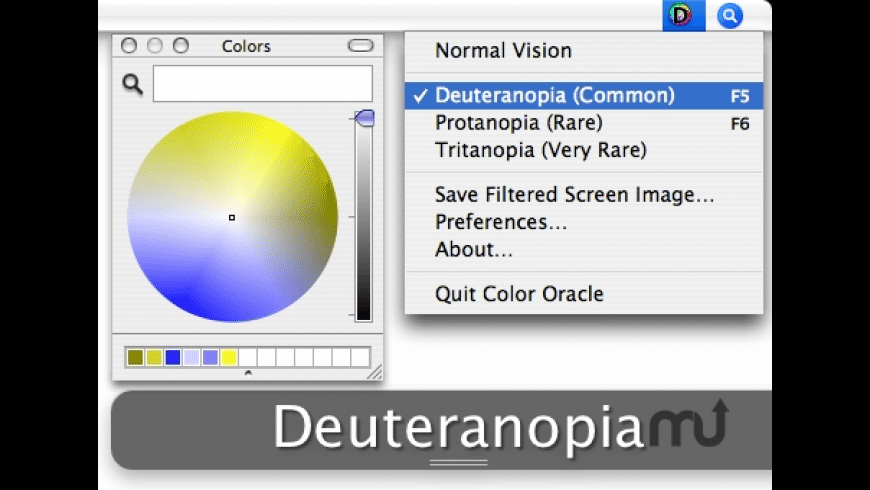 Color Oracle for Mac - review, screenshots