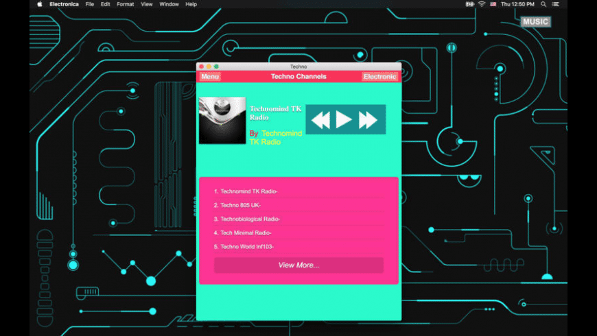 Electronica for Mac - review, screenshots