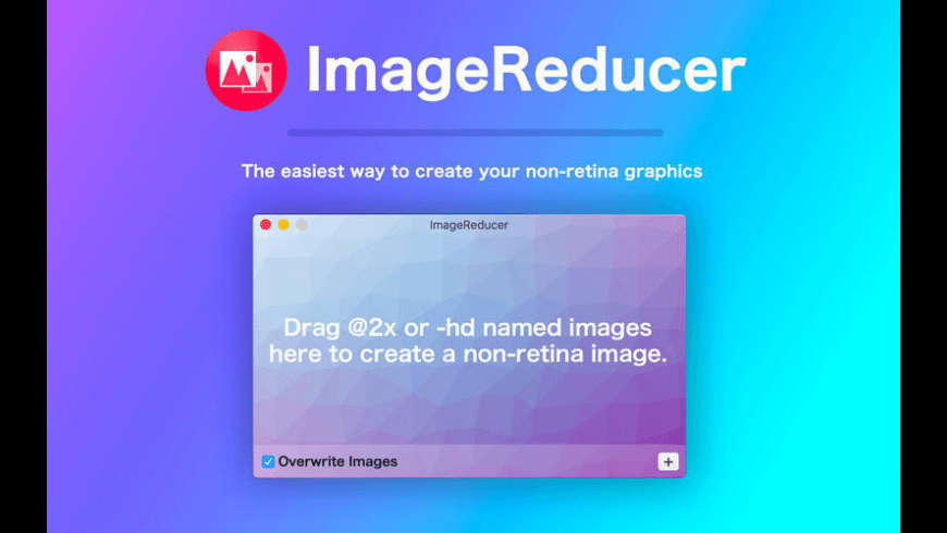 ImageReducer for Mac - review, screenshots
