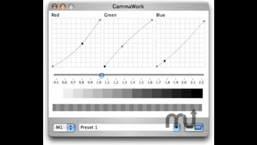 Gammawork for Mac - review, screenshots