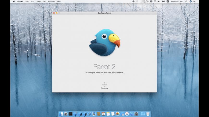 Parrot for Mac - review, screenshots