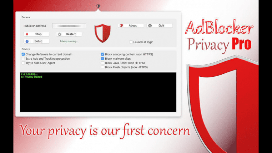 AdBlocker Privacy Pro for Mac - review, screenshots