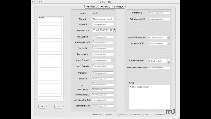 IngredixX for Mac - review, screenshots