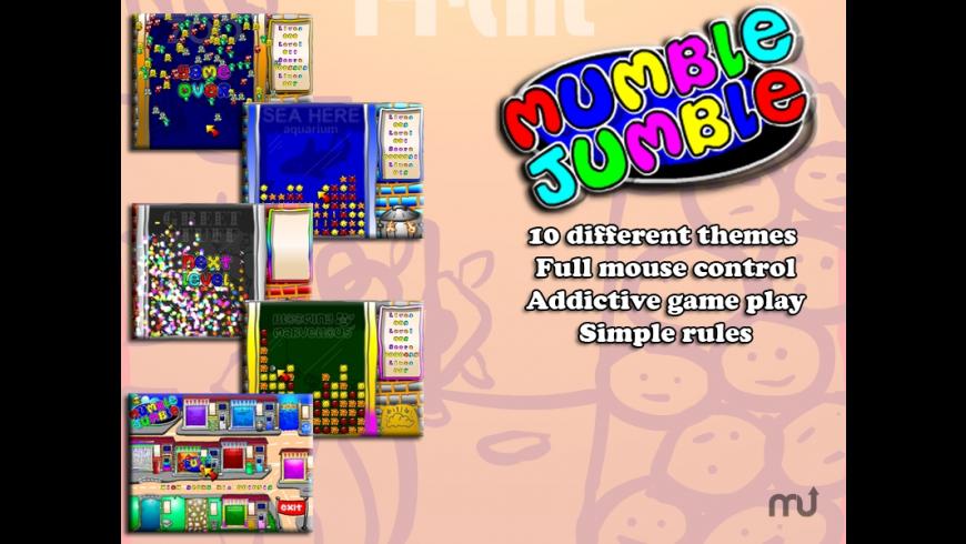 Mumble Jumble for Mac - review, screenshots