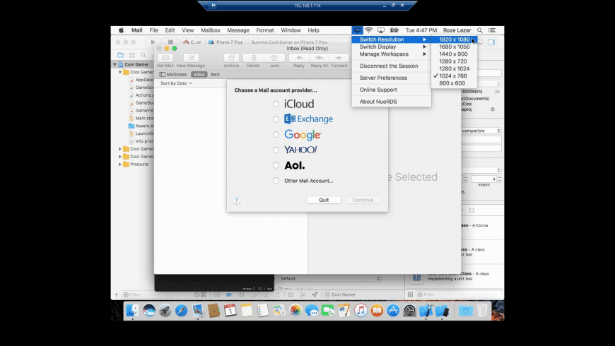 NuoRDS Terminal Server for Mac - review, screenshots