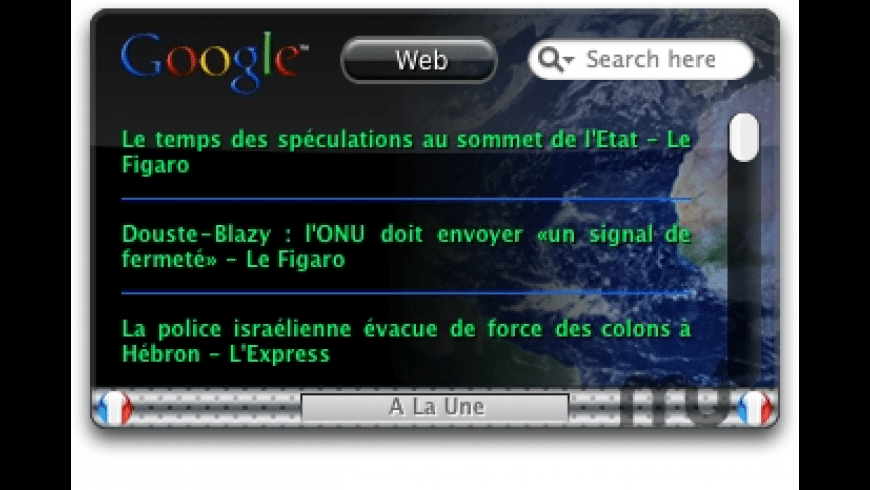 Google Smart France for Mac - review, screenshots