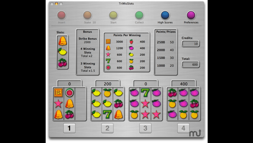 TriMicSlots for Mac - review, screenshots