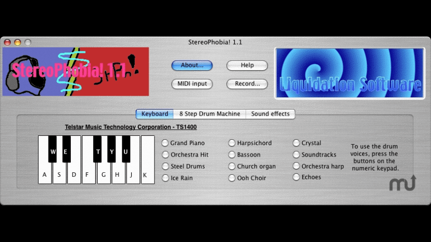 StereoPhobia! for Mac - review, screenshots