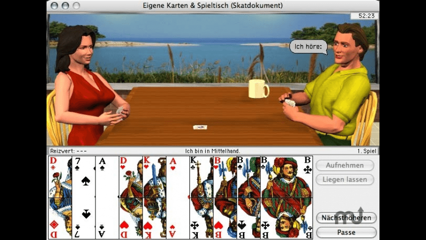 Rasche's Kartenspiele for Mac - review, screenshots