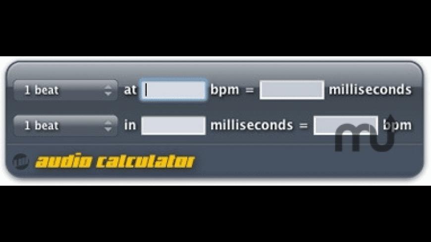 Audio Calculator for Mac - review, screenshots