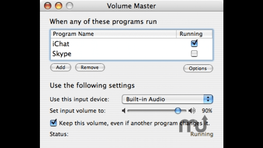 Volume Master for Mac - review, screenshots