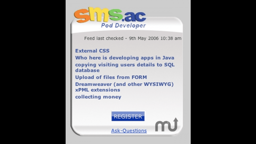 SMS.ac Developer for Mac - review, screenshots