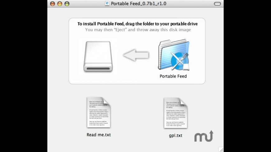 Portable Feed for Mac - review, screenshots