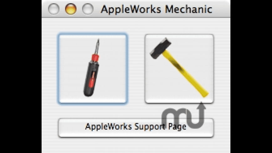AppleWorks Mechanic for Mac - review, screenshots