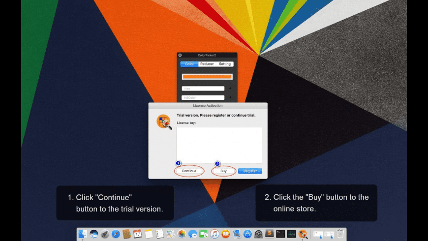 ColorPicker2 for Mac - review, screenshots