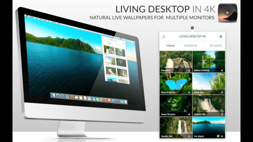 LivingDesktop 4K for Mac - review, screenshots
