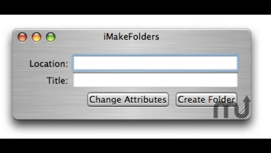 iMakeFolders for Mac - review, screenshots