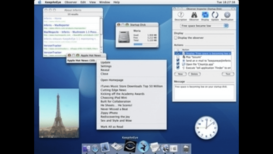 KeepAnEye for Mac - review, screenshots