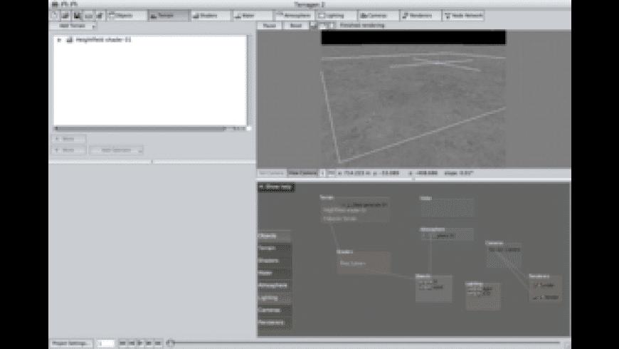 Terragen for Mac - review, screenshots