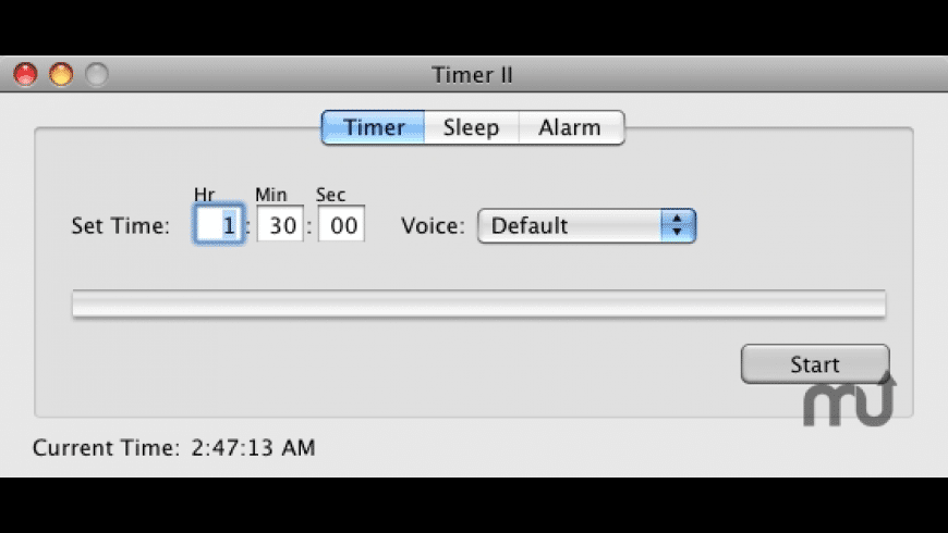Timer II for Mac - review, screenshots