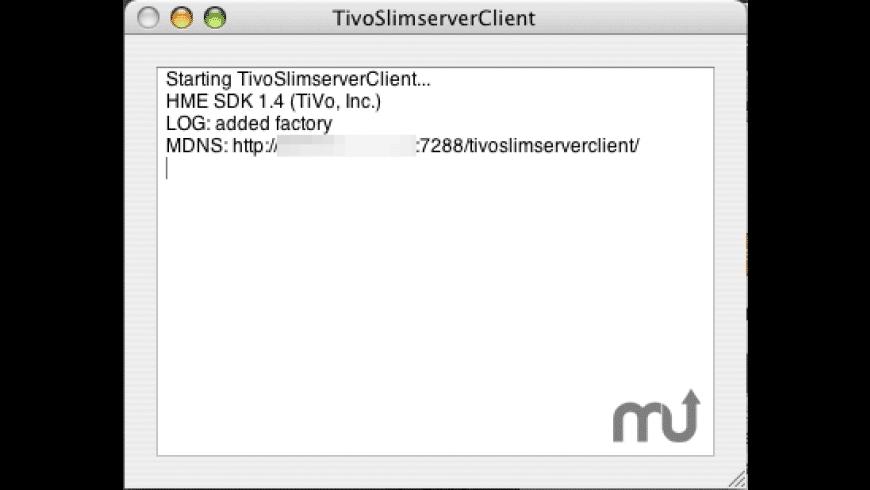 TivoSlimserverClient for Mac - review, screenshots