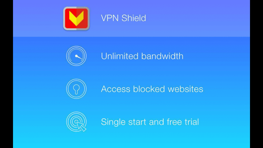 VPN Shield for Mac - review, screenshots
