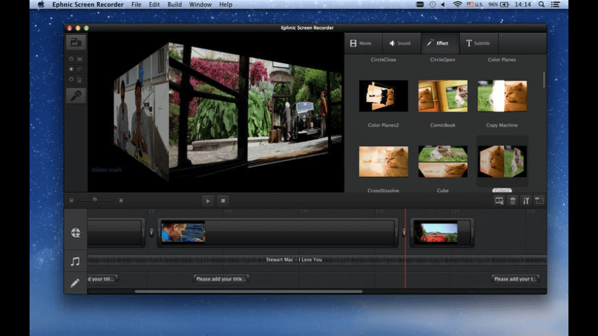 Ephnic Screen Recorder for Mac - review, screenshots