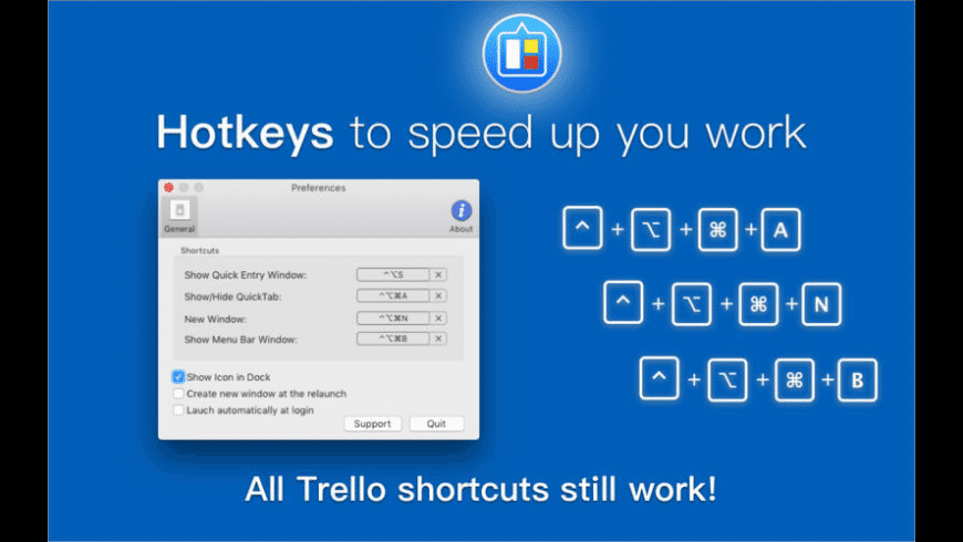 QuickTab for Trello for Mac - review, screenshots