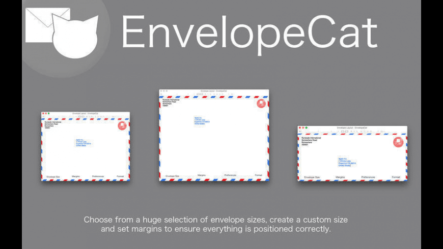 EnvelopeCat for Mac - review, screenshots