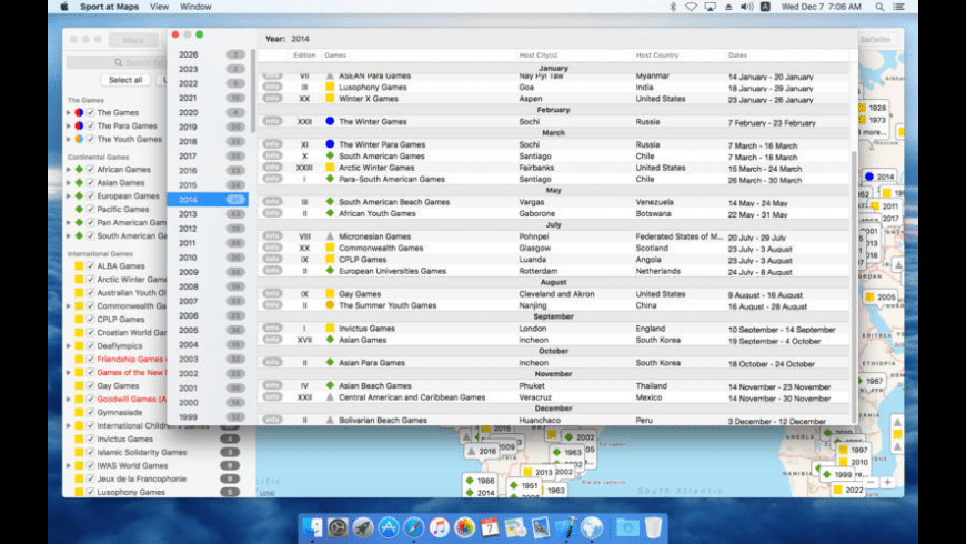 Sport at Maps for Mac - review, screenshots