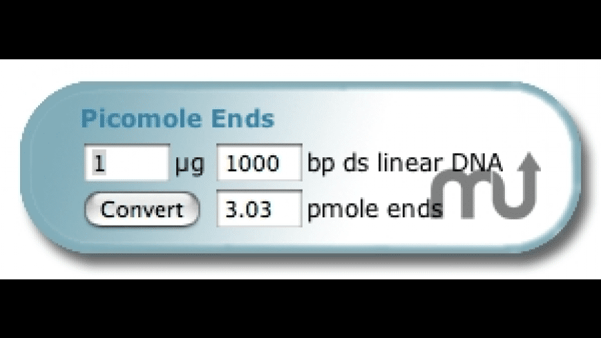 Picomole Ends Widget for Mac - review, screenshots
