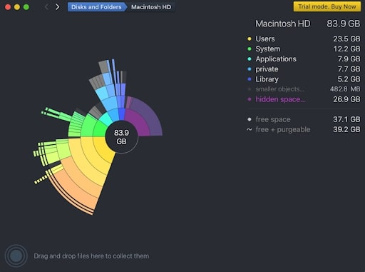 DaisyDisk - the best Cleaners for Mac