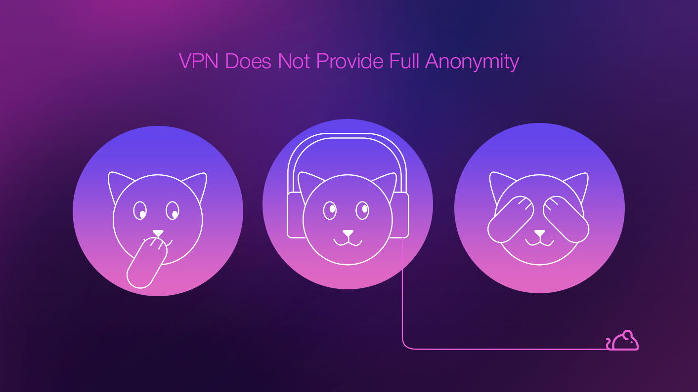 VPN Does Not Provide Full Anonymity
