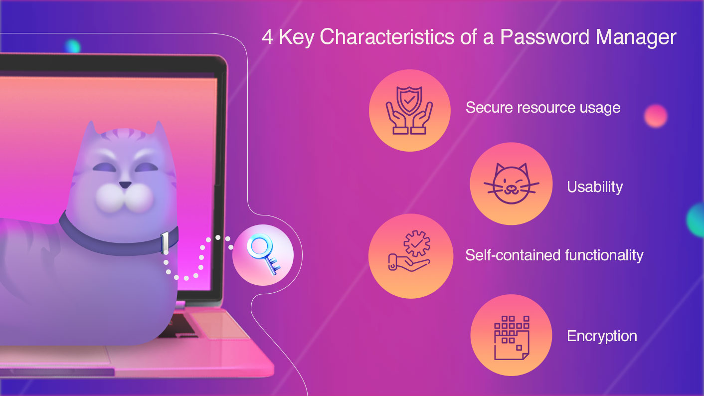 Key Characteristics Password Manager