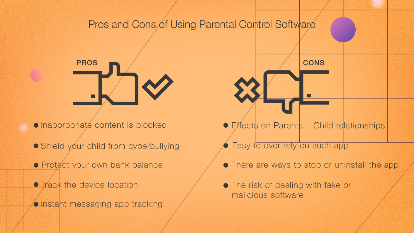 Pros Cons Parental Controls Software